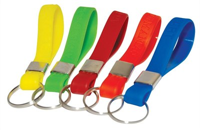 Silicone Rubber Key Ring